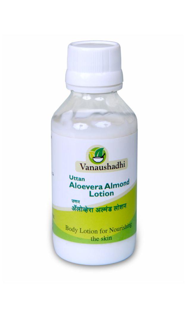Uttan Aloevera Almond lotion Image